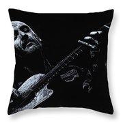 Acoustic Serenade Throw Pillow
