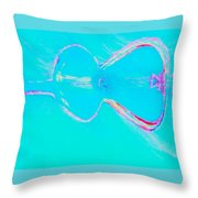 Acoustic Throw Pillow