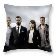 Acquitted Throw Pillow