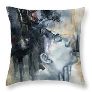 Across A Thousand Blades Throw Pillow