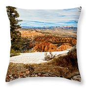 Across The Canyon Throw Pillow