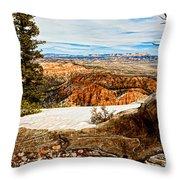 Across The Canyon Throw Pillow