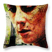 Across The Divide Throw Pillow