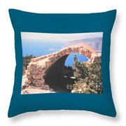 Across To Turkey Throw Pillow