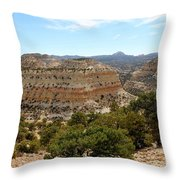 Across Utah  Throw Pillow