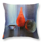 Acrylic 3d Msc 009 Throw Pillow