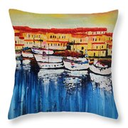 Acrylic Msc 112 Throw Pillow