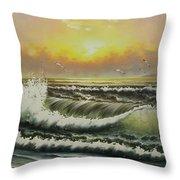 Acrylic Msc 148 Throw Pillow