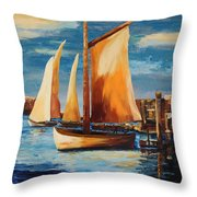 Acrylic Msc 239 Throw Pillow