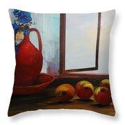 Acrylic Msc 253 Throw Pillow