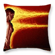 Action Ceased, Emotions Continue Throw Pillow