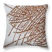 Active - Tile Throw Pillow