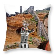 Actor Jonathan Harris As Dr Smith From Lost In Space II Throw Pillow