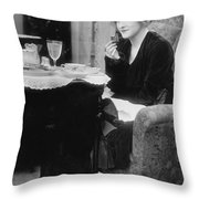 Actress Glady Brockwell Throw Pillow