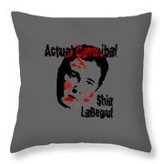 Actual Cannibal Throw Pillow