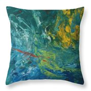 Ad-87j Nebula Throw Pillow
