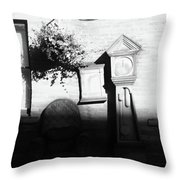 Ad It Stopped Throw Pillow