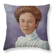 Ada Douglas Throw Pillow