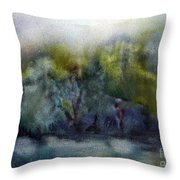 Ada River Throw Pillow