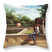 Adagio Throw Pillow
