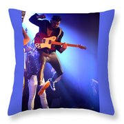 Adam Catches Some Air Throw Pillow