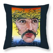 Adam In Pain Throw Pillow