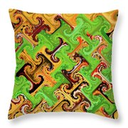 Add Some Green Throw Pillow