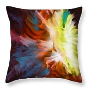 Adding Fuel To The Fire Throw Pillow
