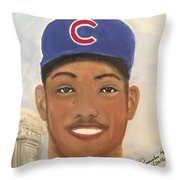 Addison Russell Throw Pillow