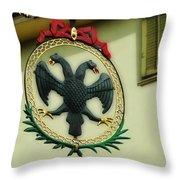 Addler's Swiss Chuchi Throw Pillow