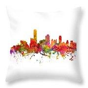 Adelaide Australia Cityscape 08 Throw Pillow