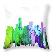 Adelaide Nsw-splash Throw Pillow
