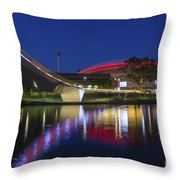 Adelaide Oval Elegance Throw Pillow