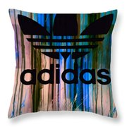 Adidas Plakative - Typografie 01 Throw Pillow