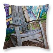 Adirondack Chair ? Throw Pillow