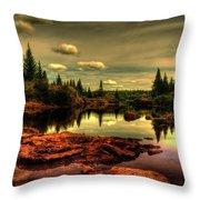 Adirondack Inlet Throw Pillow