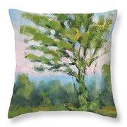 Adirondack Tree Throw Pillow