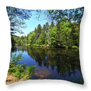 Adirondack Waters Throw Pillow