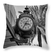 Adler's Time  Throw Pillow