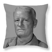 Admiral Chester Nimitz Throw Pillow