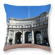 Admiralty Arch Throw Pillow