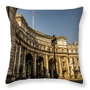 Admiralty Arch. Throw Pillow