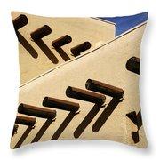 Adobe Designs Throw Pillow