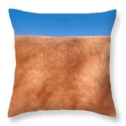 Adobe Wall Santa Fe Throw Pillow