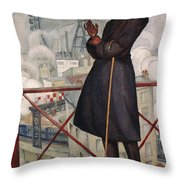 Adolfo Best-maugard Throw Pillow