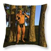 Adonis At Sunset Throw Pillow