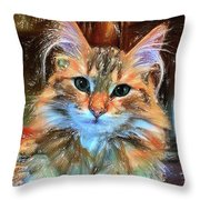 Adopted Throw Pillow