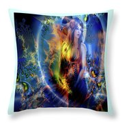Adorable Angel Throw Pillow