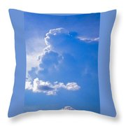 Adoration Of The Heaven Above Throw Pillow