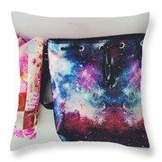 Adore The Colors Throw Pillow